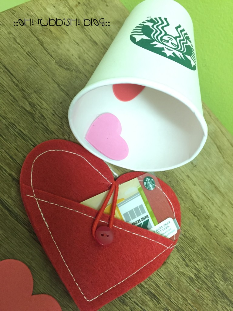 Hope Your Valentine's Day is LATTE fun by oh! rubbish! blog