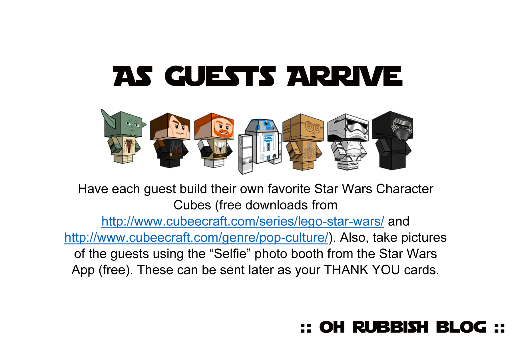 ... Party Games as well as kids star wars birthday cards printable free