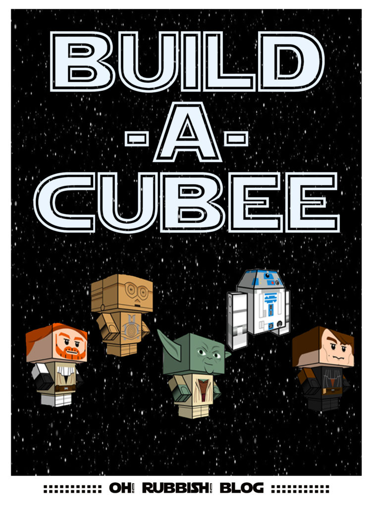Build-A-Cubee PRINTABLE by oh! rubbish! blog