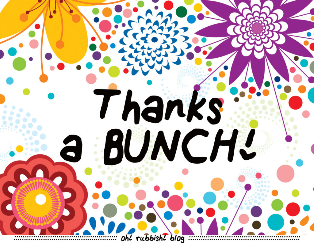 Thanks a BUNCH! Pencil Flower Bouquet :: Teacher Appreciation Day Gift IdThanks a BUNCH! Pencil Flower Bouquet :: Teacher Appreciation Day Gift Idea :: oh! rubbish! blogea :: oh! rubbish! blog