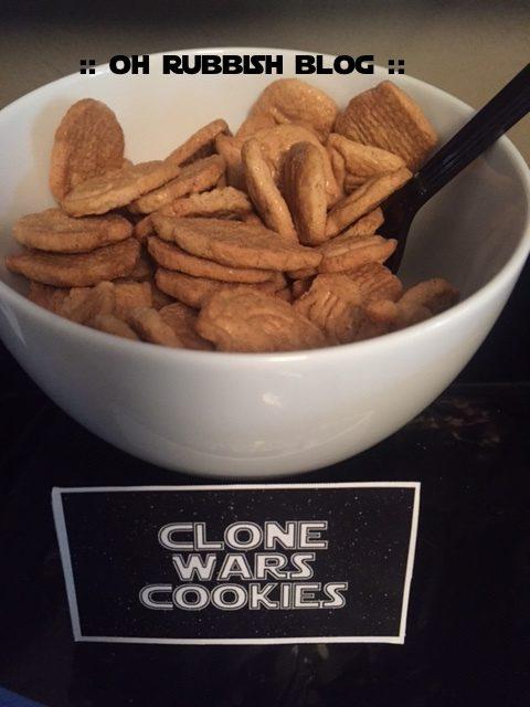 clone wars cookies
