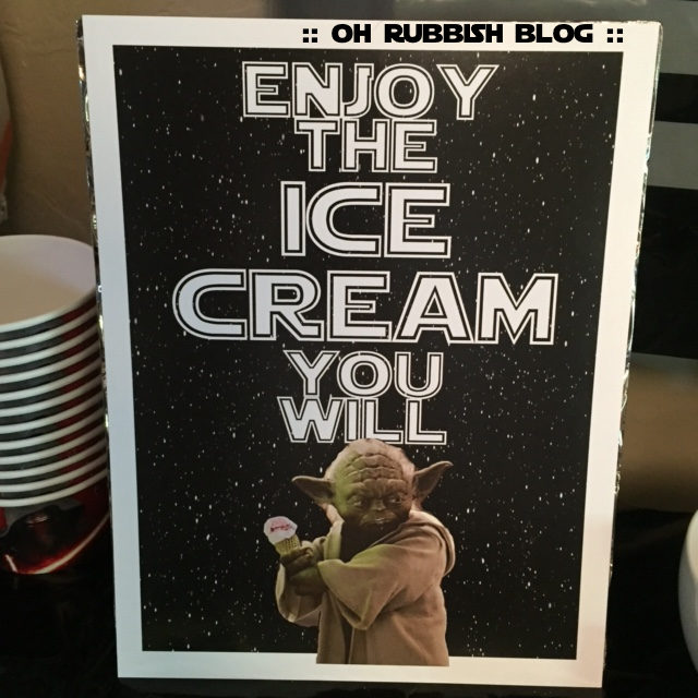 enjoy the ice cream you will sign