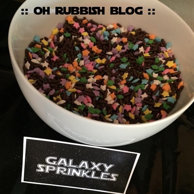 galaxy sprinkles