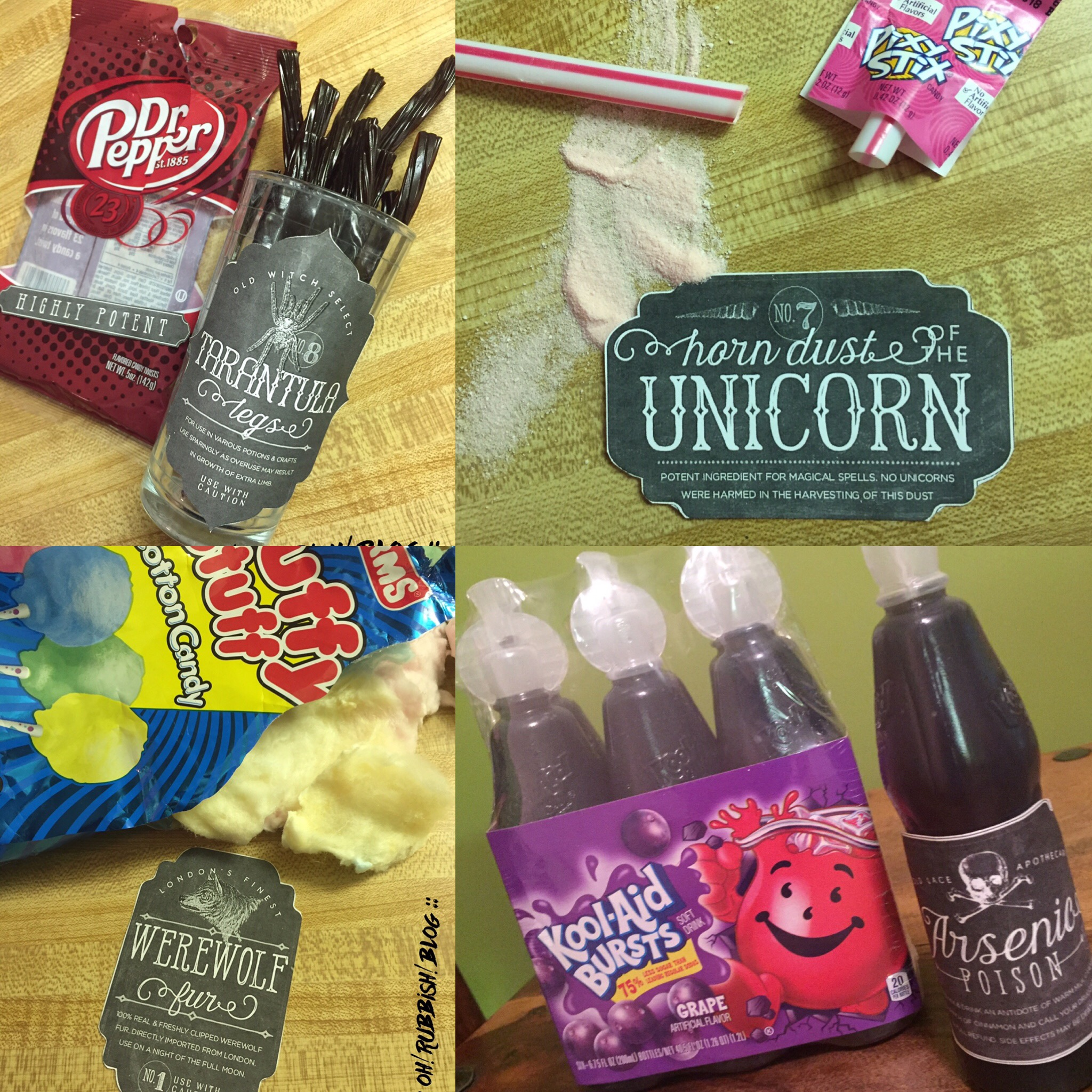 halloween apothecary party food ideas party favors and class treats by oh rubbish