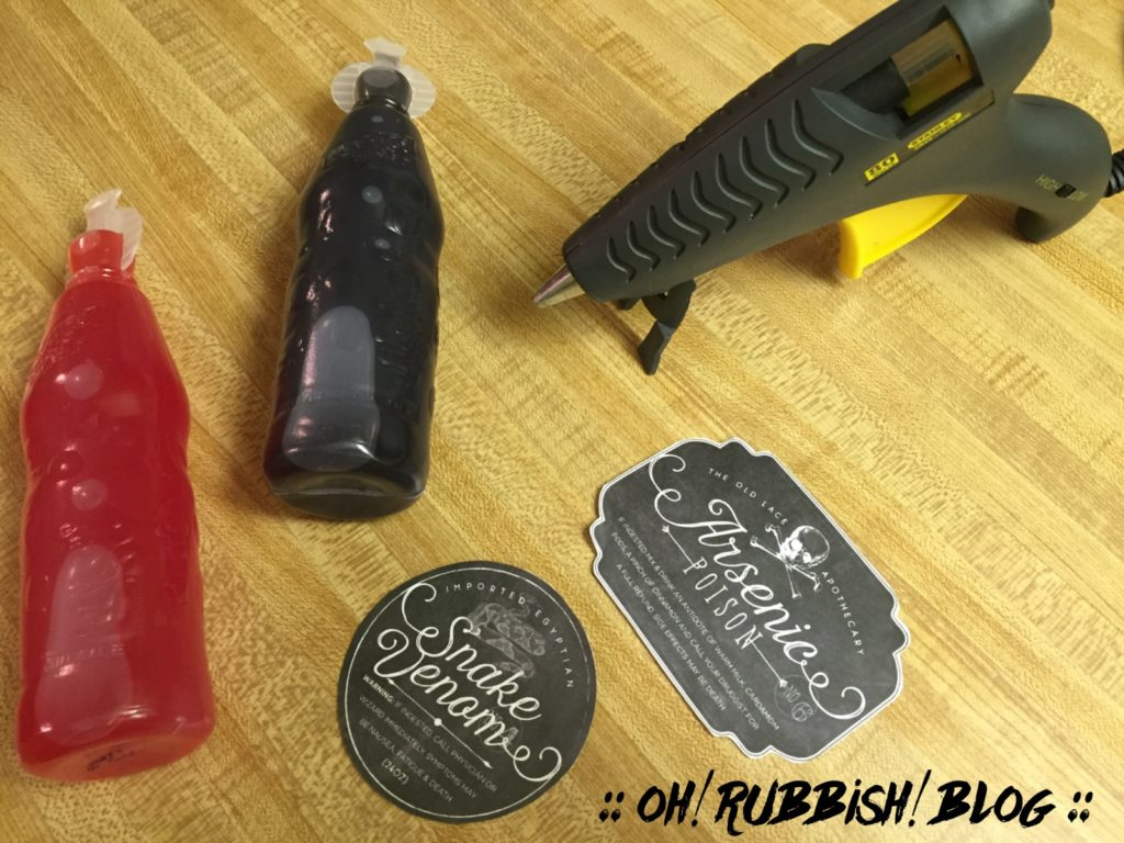 Halloween Apothecary Party Food Ideas, Party Favors and Class Treats by: oh! rubbish! blog