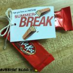 Hope You Have an Awesome Summer Break :: End of School Class Treats :: Kit Kat Classroom Favors :: oh! rubbish! blog