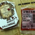 Blood Bag Candy : Halloween Treats & Printable by: oh! rubbish! blog